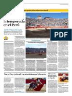 El Comercio (Lima-Peru) Lun 25 Junio 2018 (Pag A24) Pagina Taurina