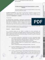 Contrato de pestação de serviço de montagem mecanica e outras avenças