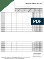FORMA-SGI-32 Programa de Calibración