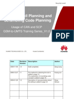GSM-To-UMTS Training Series 05_Neighbor Cell Planning and Scrambling Code Planning_V1.0