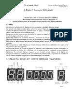 P03 Control de Display de 7 Segmentos Multiplexado