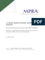 Modelo Espacial Simples Da Economia MPRA_paper_67005