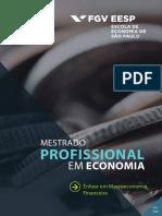 Fgv Sp Master Ementas_Macroeconomia