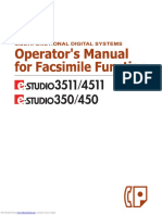 Toshiba E-STUDIO3511 Operator's Manual