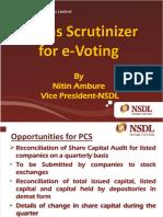 E-Voting ICSI Mumbai - June 27, 2014