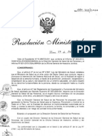 Peru 2010 NTS 083 Para La Vigil an CIA Prevencion y Control de La Peste