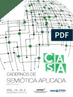 Cadernos de semiótica aplicada
