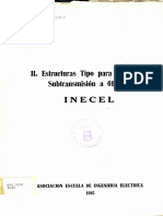 INECEL Estructuras Tipo para Lineas de 69kV.pdf