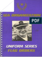 Sea Organization - Uniform Series Flag Orders