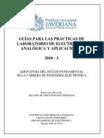 LABORATORIO Electrónica analógica y aplicaciones v20180621