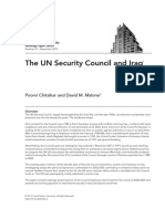 The Role of UN in Iraq
