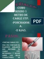 PRACTICA DE PONCHADO UTP