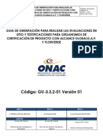 GU-3.3.2-01 Guia de Orientación Para Evaluación en Sitio y Testificación GLOBALGAP V1