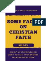 Some Facts on Christian Faith sir Dan