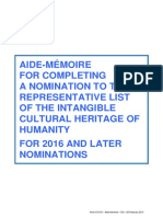 Intangible Heritage List Unesco_2017