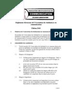 Reglements Electoraux 2010