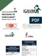 Informe IGAVIM  Fiscalía General del Estado