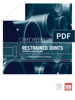 Restrained Joints for Iron Pipe Lines