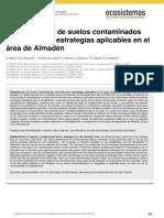 Rehabilitación de Suelos Contaminadosmercurio