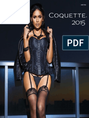 New Coquette 3736 Crotchless Lace Thong