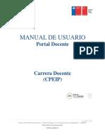 Manual portal docente