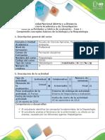 Guía de Actividades y Rubrica de Evaluación - Fase 1- Generalidades y Reconocimiento Del Curso