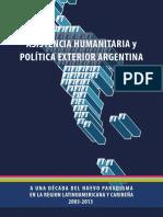 Ayuda Humanitaria y Politica Exterior.