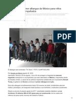 30-08-2018-Construyen el primer albergue de México para niños migrantes no acompañados - heraldodemexico
