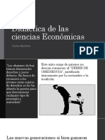 Didáctica de Las Ciencias Económicas