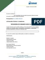 Guillermo Stella 20265 265 18 Secadora SCM 2-8 Gas