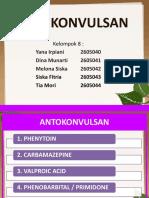 ANTIKONVULSAN  KELOMPOK 8.pptx