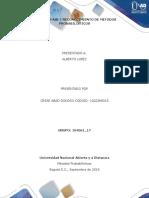 Unidad 1 Fase 1 Reconocimiento de Metodos Probabilisticos