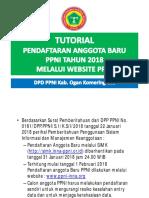 TUTORIAL PENDAFTARAN ANGGOTA BARU PPNI TAHUN 2018.pdf
