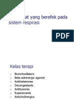 Obat-obat Pada Sistem Respirasi - (DR. dr. EM Sutrisna, M.Kes).ppt
