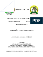 Clase Garantias Constitucionales