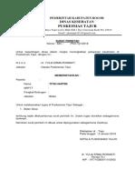 Surat Perintah Uraian Tugas Tajur Bu Titin