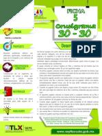 Ficha 5_Adicion_y_sustraccion_Crucigrama_30-30