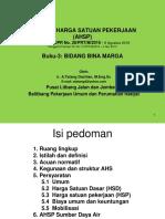 Panduan AHSP - Buku-3 Bid Bina Marga 5 April2018 - Cipta Karya
