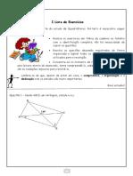 I Lista de Exercícios III Trimestre - 8° ano Geometria