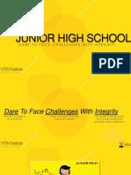 VITA Junior High School - Open House 2018