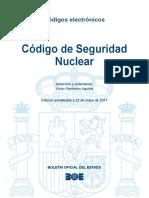 BOE-219 Codigo de Seguridad Nuclear