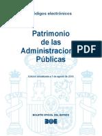 BOE-170 Patrimonio de Las Administraciones Publicas
