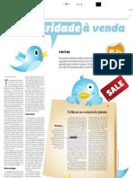 Twitter, Popularidade a Venda