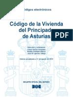 BOE-182 Codigo de La Vivienda Del Principado de Asturias
