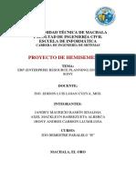 Proyecto tecnologias de La Informacion (Informe de Britix24 ERP)