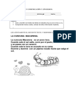 71443673 Prueba Lenguaje y Comunicacion 1º Ano Basico