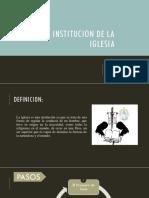 Institucion de La Iglesia