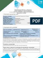 Guía y Rubrica Conocimientos Previos. Fase 1- Reconocimiento