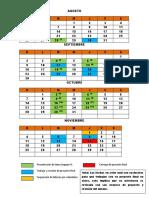 calendario equipos