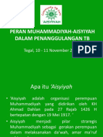 peran Muhammadiyah - Aisyiyah dalam TB.pptx